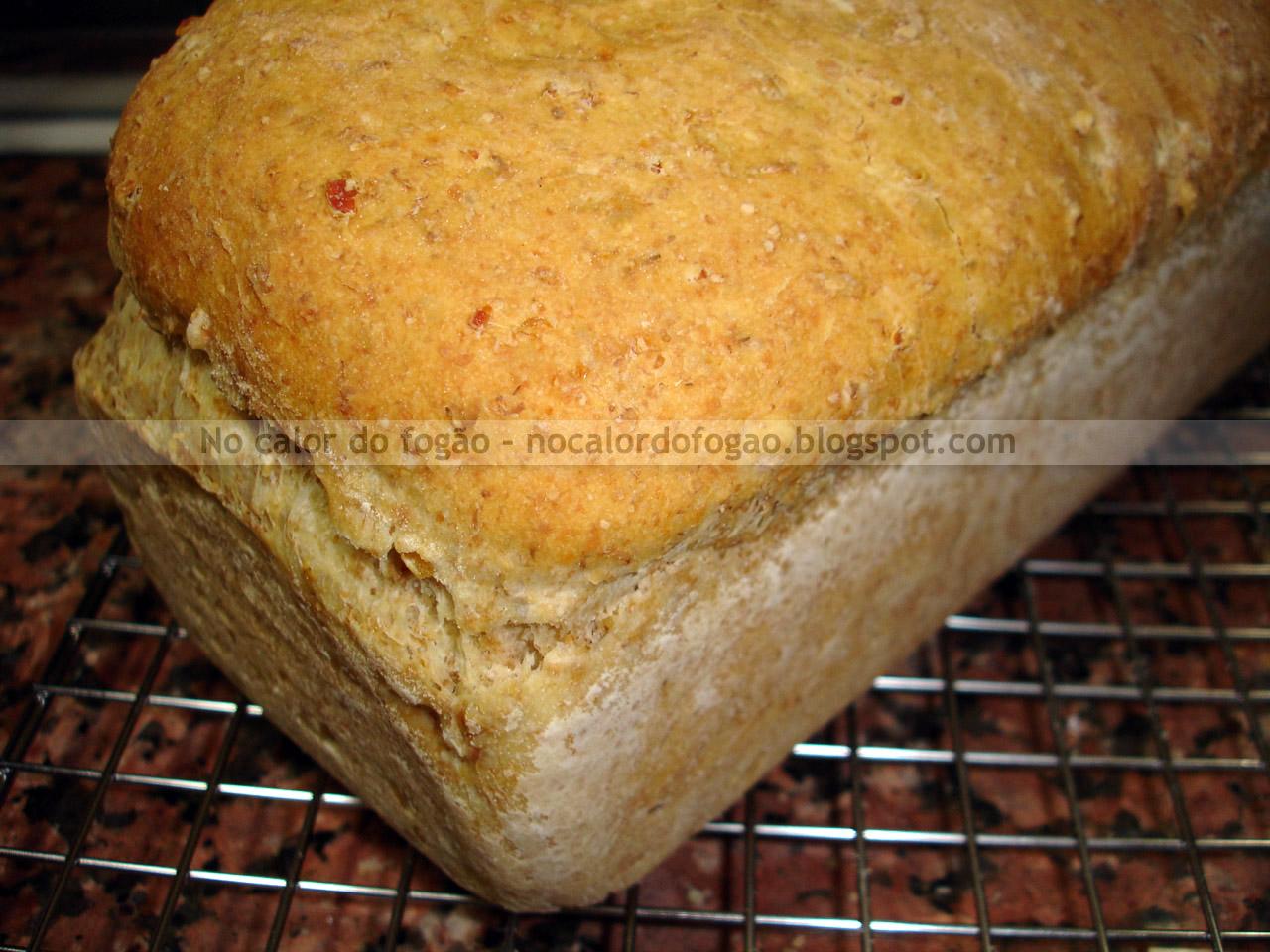Pão de arroz integral