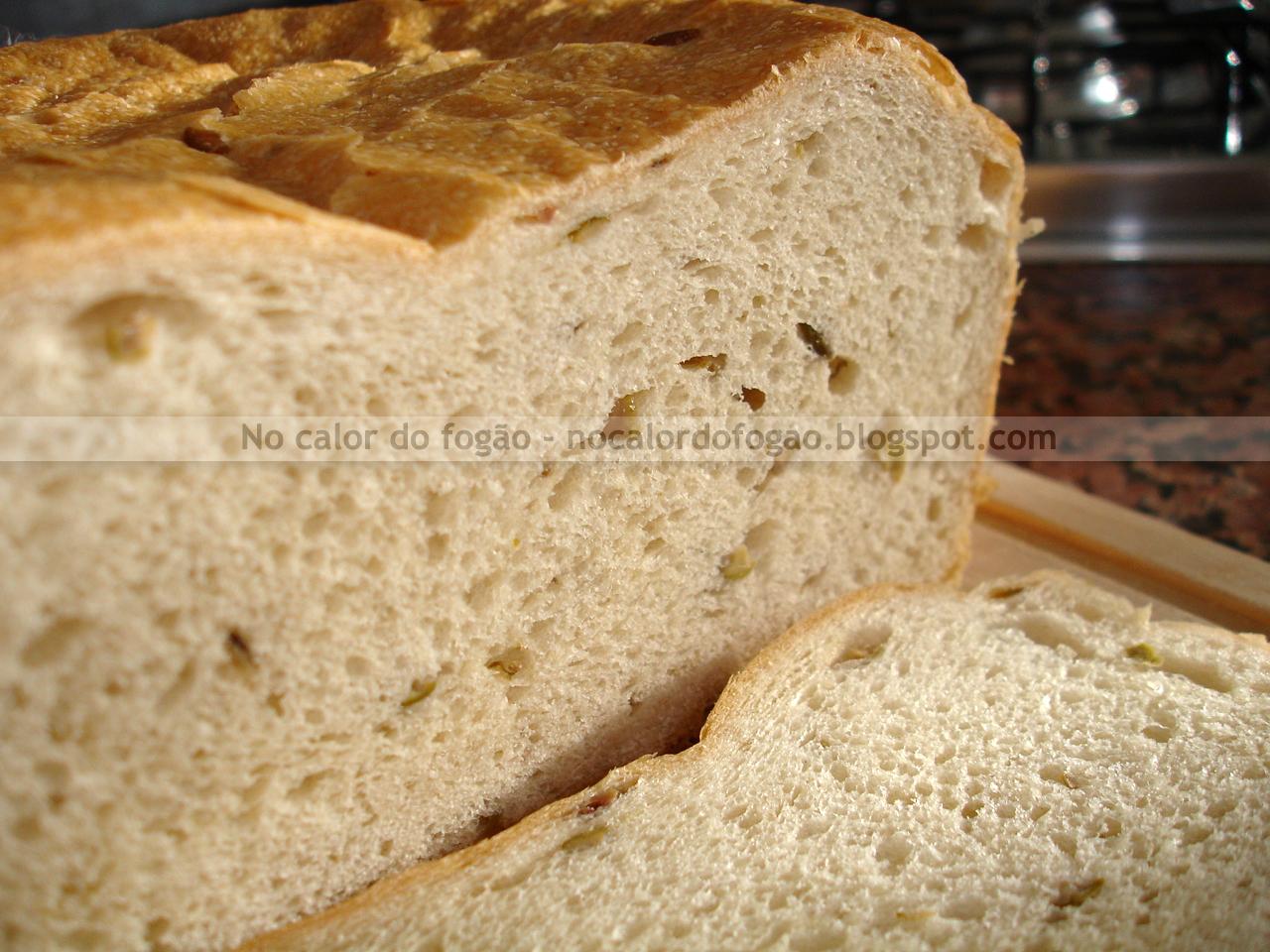 Pão de oliva à moda da casa