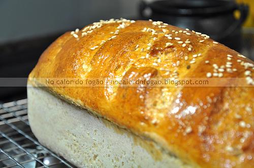 Pão de gérmen de trigo e mel