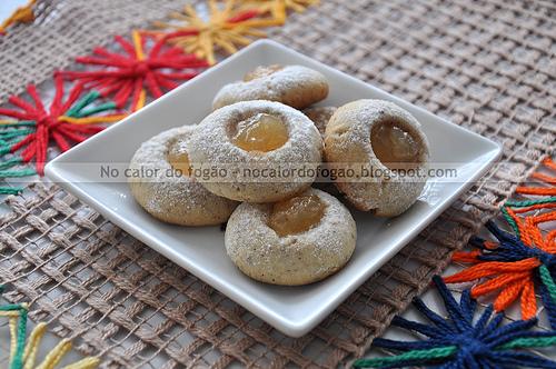 Thumbprint cookies paraenses