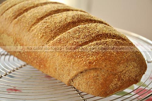 Pão semi-integral com leite