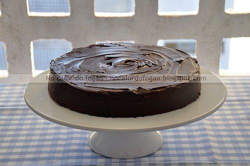 Almost-fudge gâteau (e 5 anos de blog!)