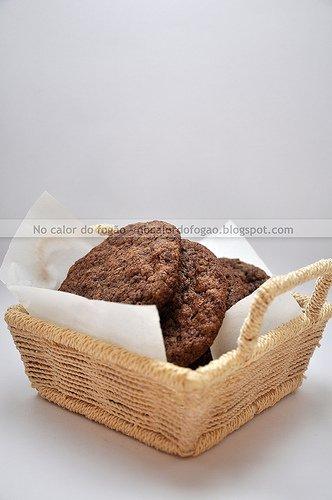 Cookies de granola com ovomaltine