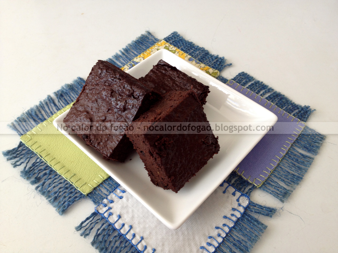 Brownies de abacate