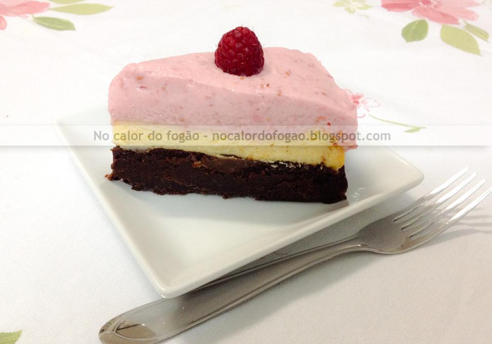 Raspberry cheesecake brownie