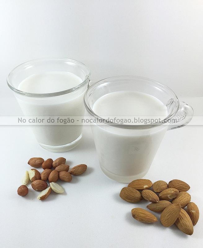 Faça você mesmo – 'leites' vegetais