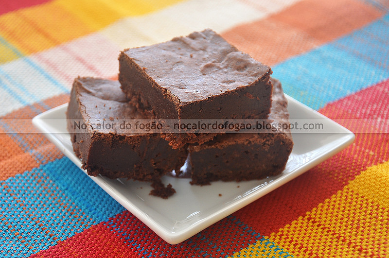 Brownies de chocolate de uma tigela só