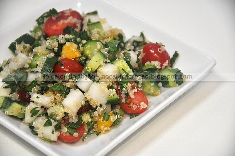 Tabule de verão (com quinoa)