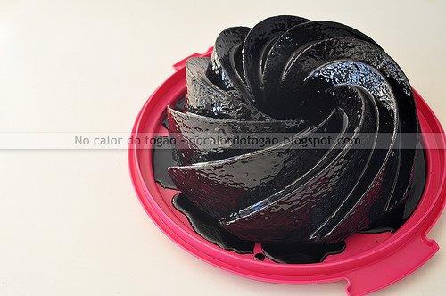 Bolo Negro de Chocolate Chocolatria