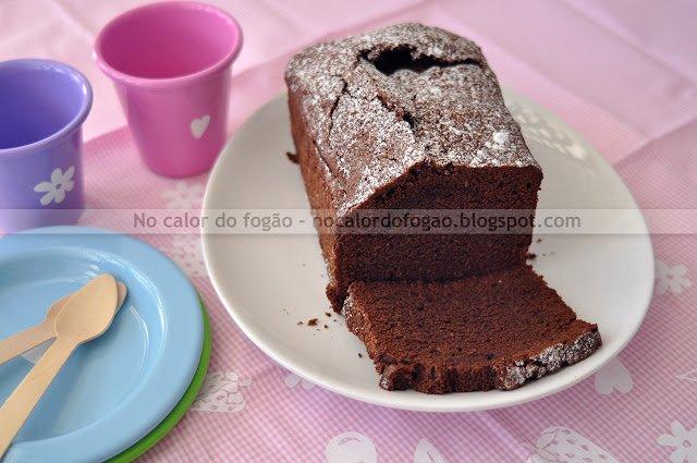 Bolo de chocolate francês