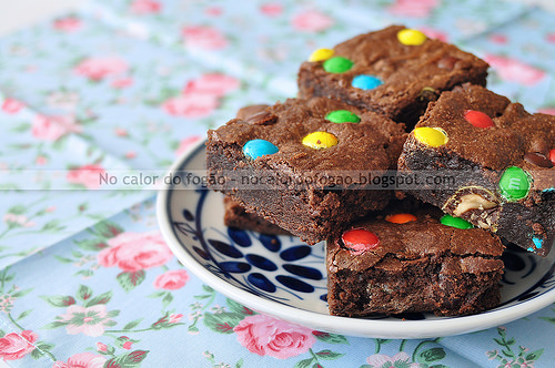 Brownies de M&Ms