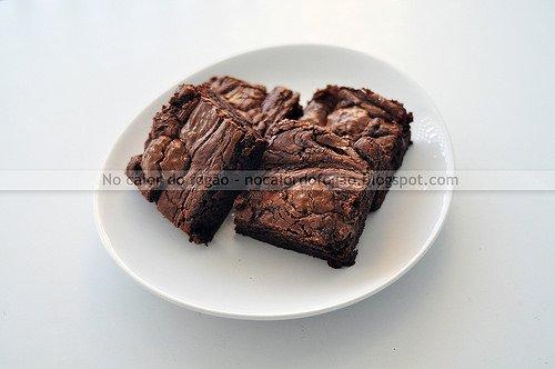 Brownies de Nutella e Ferrero Rocher
