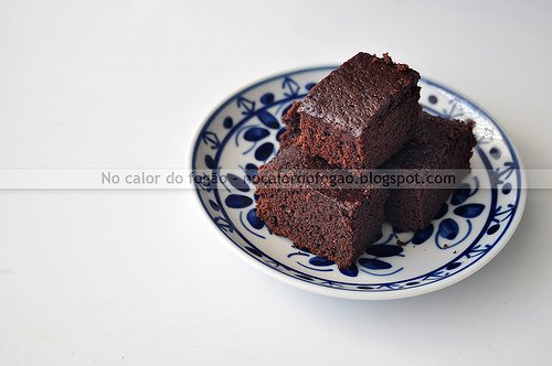 Brownie/bolo de chocolate delicioso da Lyle