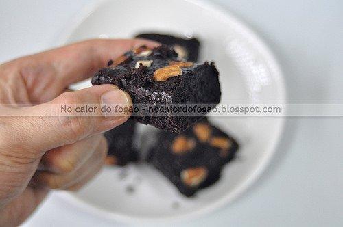 Brownies com farinha de trigo integral
