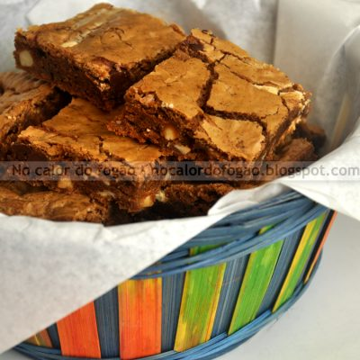 Speculaas blondies