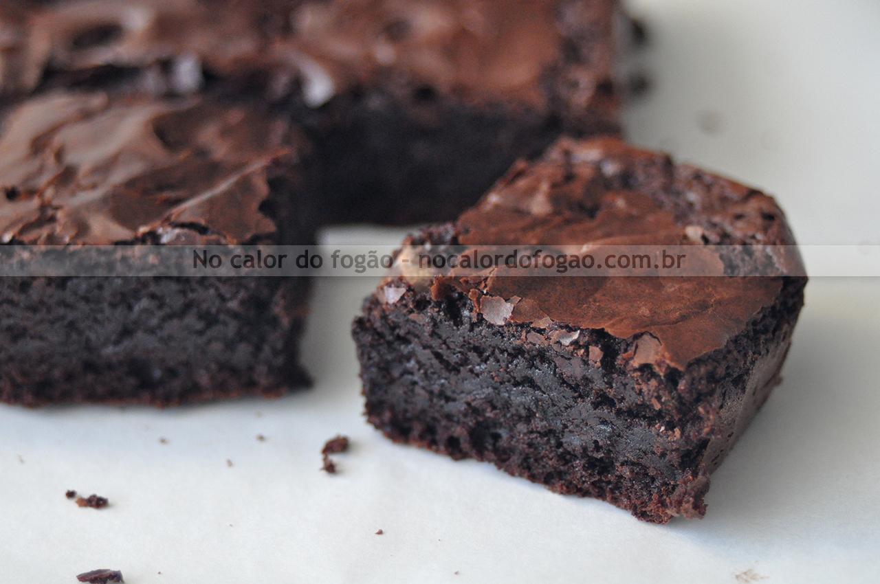 Brownies 'de caixinha' caseiros