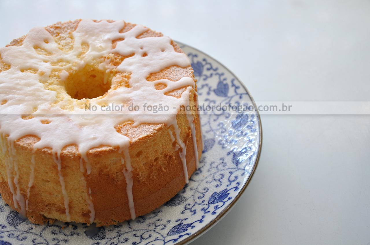 Chiffon cake de limão siciliano