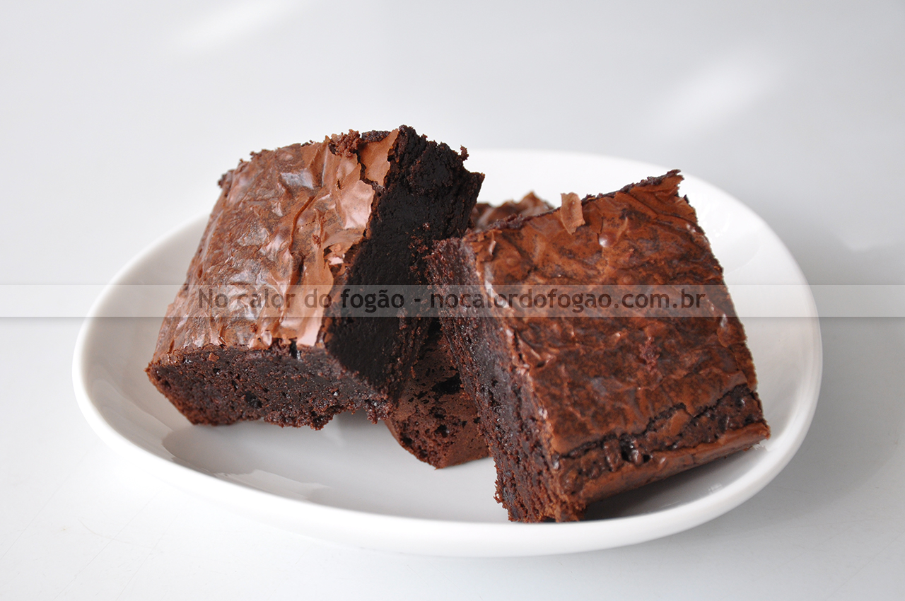 Glossy fudge brownies da Stella Parks