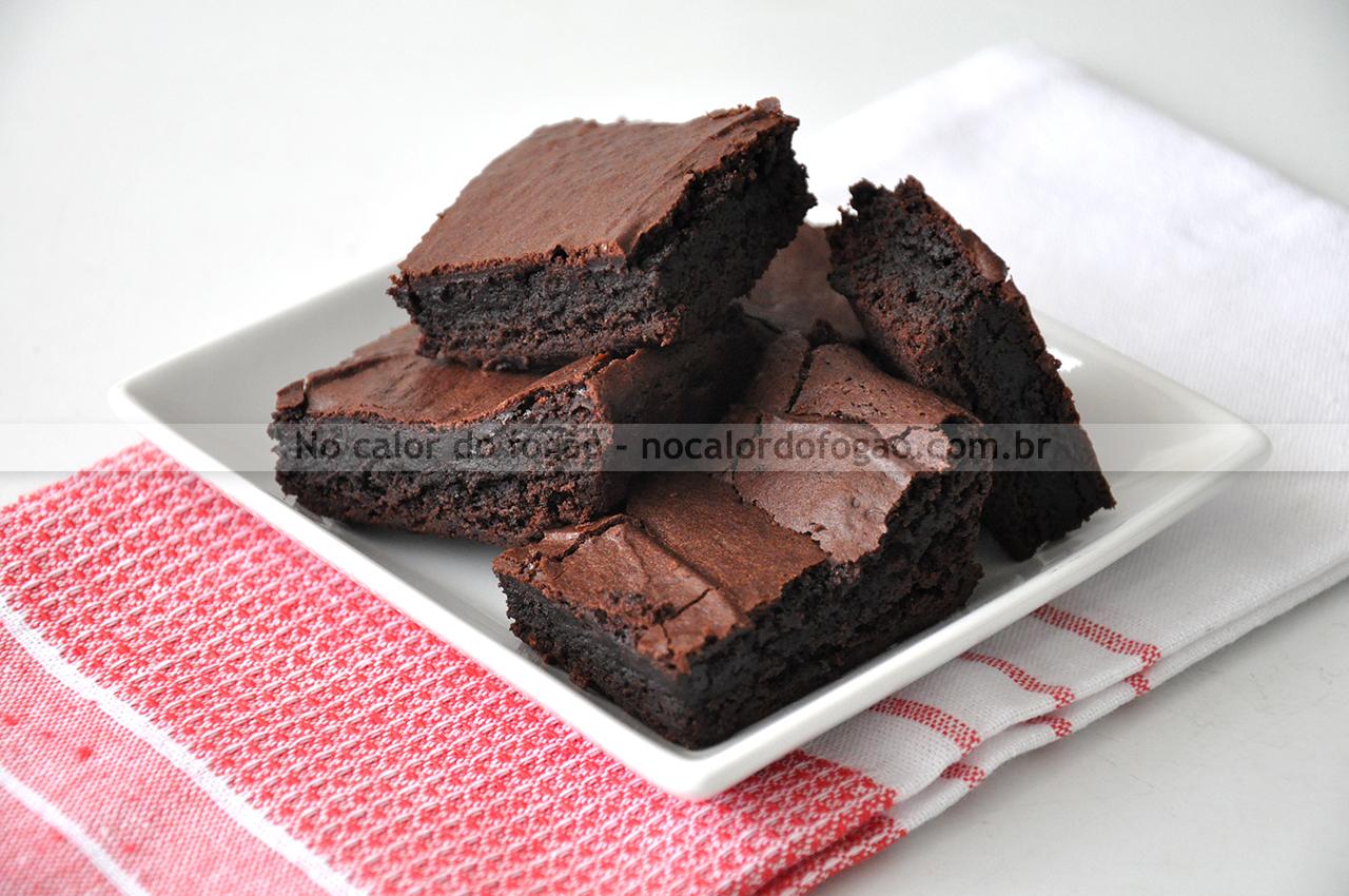 Brownies veganos absurdamente bons