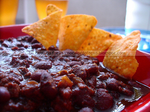 Chili con carne, stout y chocolate