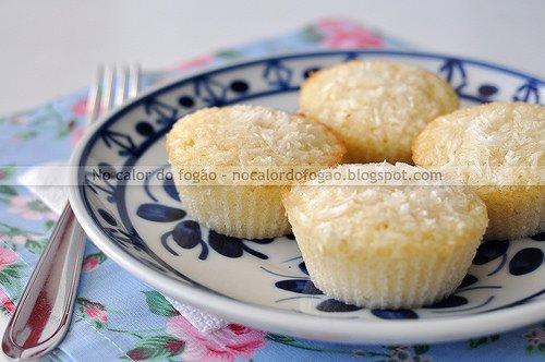 Friands de coco da Stefânia